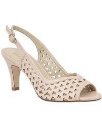 Lotus - Canaan Womens Sling Back Peep Toe Sandals - Lyst