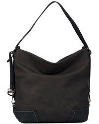 Gabor Mara Womens Hobo Bag - Gray