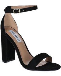 Steve Madden Carson-r Womens High Heeled Sandals - Black
