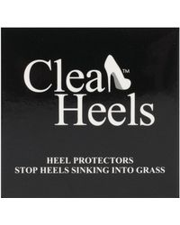 Charles Clinkard - Heel Stoppers Plain Clear - Lyst