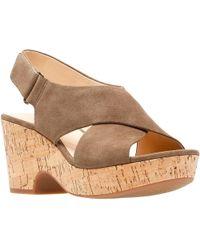 Clarks Maritsa Lara Womens Wedge Sandals - Multicolour