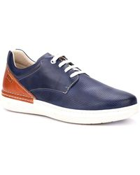 Pikolinos Begur Mens Casual Lace Up Shoes - Blue
