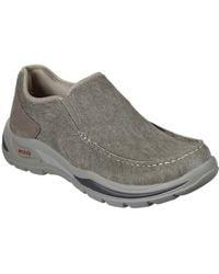 Skechers Arch Fit Motley Rolens Mens Slip On Shoes - Multicolour