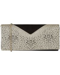 Lotus Fidda Womens Clutch Handbag - Black