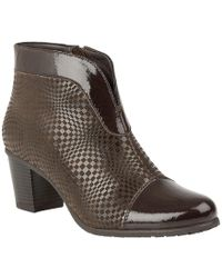 Lotus - Beanie Womens Casual Ankle Boots - Lyst