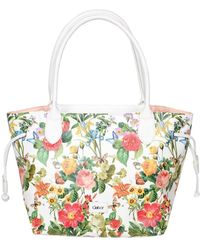 Gabor Granada Spring Womens Shoulder Bag - White