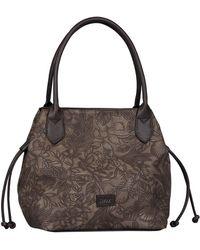 Gabor Granada Fiore Womens Shoulder Bag - Brown