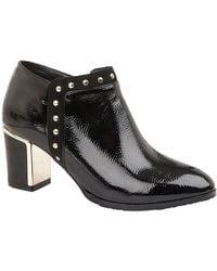 Lotus Joey Womens High Cut Court Shoes - Black