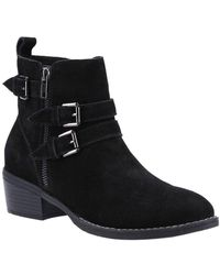 Hush Puppies Jenna Womens Ankle Boots - Black