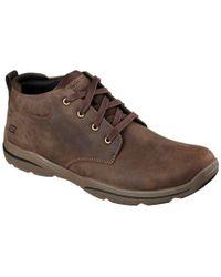 Skechers - Harper Melden Mens Casual Lightweight Boots - Lyst