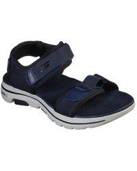 Skechers Go Walk 5 Cabourg Mens Sandals - Blue