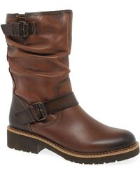Pikolinos Vicar Womens Calf Length Boots - Brown