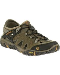 Merrell All Out Blaze Sieve Mens Casual Sports Shoes - Multicolour