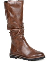 Marco Tozzi Valery Womens Knee High Boots - Brown