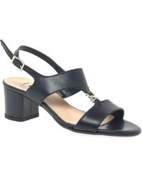 Charles Clinkard - Carla Womens Dress Block Heel Sandals - Lyst