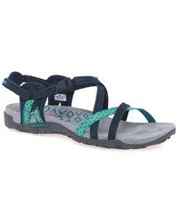 Merrell Terran Lattice Ii Womens Sandals - Blue