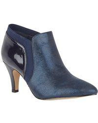 Lotus Candice Womens High Cut Court Shoes - Blue