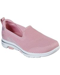 Skechers Go Walk 5 Prized Womens Trainers - Pink