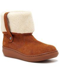 Rocket Dog Sugar Mint Ankle Winter Boot - Brown
