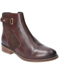 Hush Puppies Hollie Zip Up Ankle Boot - Brown