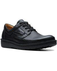 Clarks Nature Ii Men's Lace Up Shoes - Black