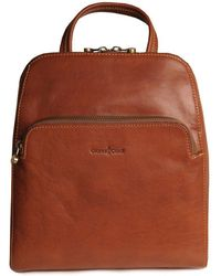 Charles Clinkard - Bergamo Womens Leather Backpack - Lyst