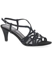 Marco Tozzi Lockton Womens Sandals - Black
