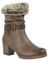 Lotus Charmaine Womens Boots - Brown