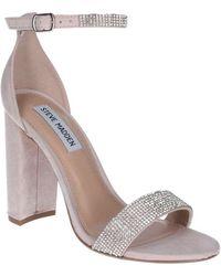 Steve Madden Carson-r Womens High Heeled Sandals - Multicolour
