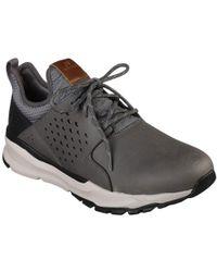 569568f656dc Skechers - Relven - Hemson 65732 Men s Shoes (trainers) In Grey - Lyst