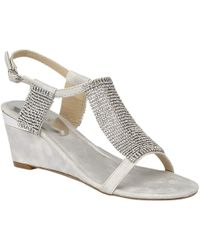 Lotus - Klaudia Wedge Sandals - Lyst