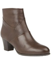 Lotus - Metcalf Womens Casual Ankle Boots - Lyst