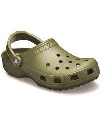 Crocs™ Classic Womens Mules - Green