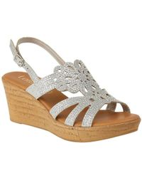 Lotus - Ludisa Womens Wedge Heel Sandals - Lyst