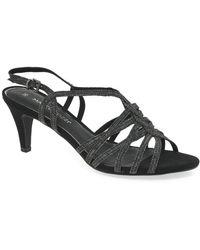 Marco Tozzi Lockton Ii Womens Sandals - Black