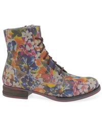 Josef Seibel Sanja 01 Womens Ankle Boots - Multicolour