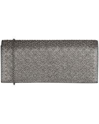 Lotus Tadine Womens Diamante Clutch Bag - Grey
