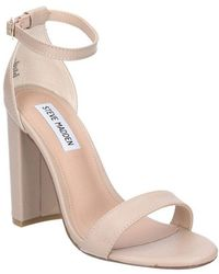 Steve Madden - Carrson Womens Chunky Heel Sandals - Lyst