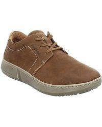 Josef Seibel Louis 01 Mens Casual Lace Up Shoes - Brown