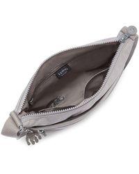 Kipling Arto Womens Messenger Handbag - Grey