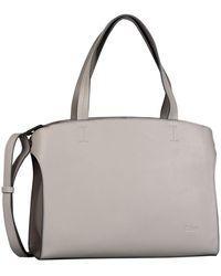 Gabor Melina Womens Grab Bag - Grey