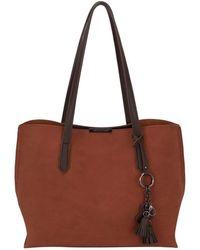 David Jones - Mistletoe Womens Classic Charm Detail Shoulder Bag - Lyst