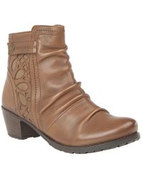 Lotus - Maples Womens Casual Ankle Boots - Lyst