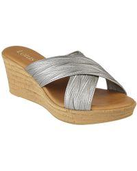 Lotus - Latimer Womens Wedge Heel Sandals - Lyst