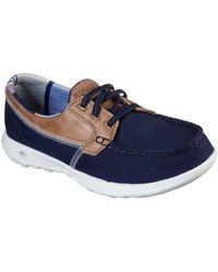 Skechers - Gowalk Lite Playa Vista Womens Boat Shoes - Lyst