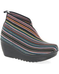 Bernie Mev Maile Womens Casual Ankle Boots - Multicolour