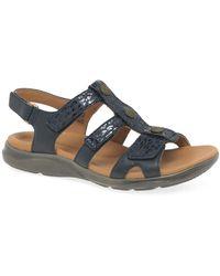 Clarks Cla Kylyn Step 261591834 Size: 4 - Blue