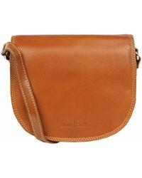 Charles Clinkard - Fitz Leather Shoulder Bag - Lyst