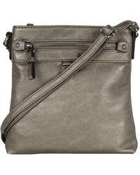 Gabor Ina Womens Messenger Handbag - Multicolour