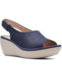 Clarks - Reedly Shaina Womens Slingback Sandals - Lyst